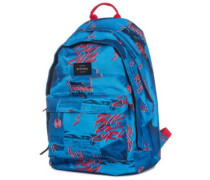 Double Dome Poster Vibes Backpack blue