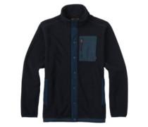 Hearth Snap Up Fleece Jacket true black