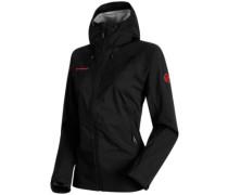 Keiko Hs Hooded Outdoor Jacket black