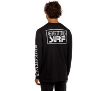 Ghetto Surf T-Shirt LS black