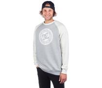 Circle Star Crew Sweater snow white