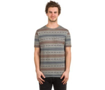Forest T-Shirt jacquard stripe