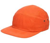 Safety Waxed 5 Panel Cap orange