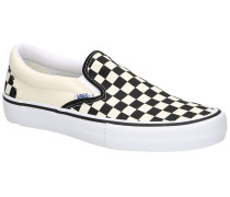 Checkerboard Pro Slip-Ons whit