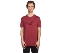 Mowe Tonal T-Shirt heather merlot red