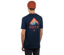 Mountain T-Shirt navy