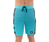 Phantom Motion Stripe Boardshorts chlorine blue