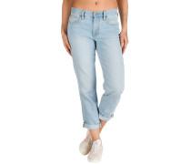Straight Leg Jeans tidal blue