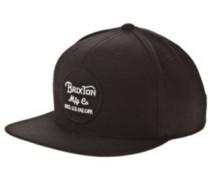 Wheeler Snapback Cap black