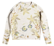 Night Is Young Sweater marshmallow bird flower