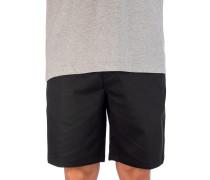Icon Stretch Chino 19'' Shorts black
