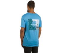 Break Brush T-Shirt azure blue marle