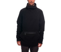 GLCR Knit Tech Hooded Fleece Jacket black