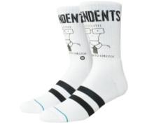 Milo Goes To College Socks white