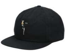 Lady Luck Strapback Cap black