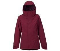 Rubix Shell Jacket sangria