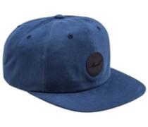 Flat 6-Panel Cap blue