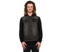 RAD Denim Jacket worn black
