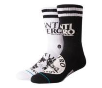 X DLXSF Antihero Socks black