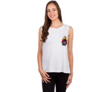 Spear Tank Top white