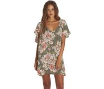 Fine Flutter Dress clover