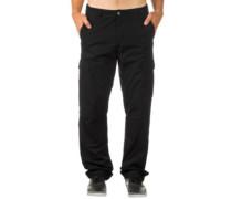 Regular Cargo 'Columbia' Ripstop Pants black rinsed