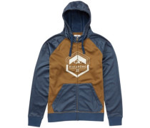 Downhill Zip Hoodie dark denim