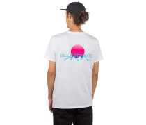 Sunset Range T-Shirt white