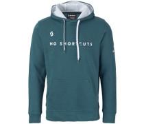 50 No Shortcuts Hoodie blue coral