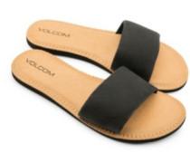 Simple Slide Sandals Women black