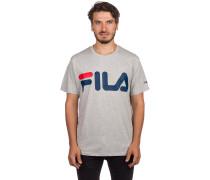 Basic T-Shirt light grey melange bros