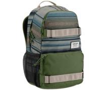 Treble Yell Backpack tusk stripe print