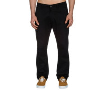 Straight Flex Chino Pants pc black