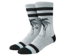 Cheeky Palm Socks grey