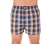Lousy Check Boxershorts curry gray