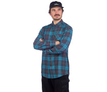 Caden Plaid Shirt asphalt black