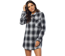 Moto X Long Flannel Shirt LS white