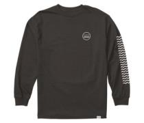 Waves T-Shirt LS black