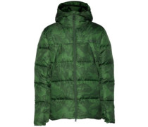 Kearns Down Parka forest green marble