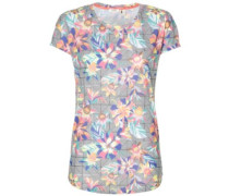 Sublimation Print T-Shirt black graphic small pink