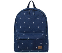 Sugar Baby Canvas Backpack dress blue printed anchor