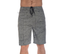 Phantom JJF Maps Heather Boardshorts black