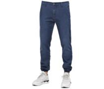 Jogger Pants superior mid blue