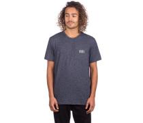 3 Logo Essential T-Shirt blue aop