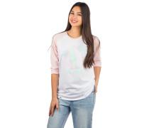 Make Or Break Long Sleeve T-Shirt cream heather pink