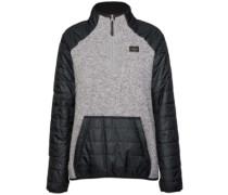 Emma Tech Fleece Pullover heather grey