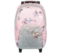 Vitamin Sea Backpack Girls coral almond trellis clim