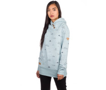 Angel Hoodie dusty blue
