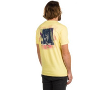 Magnetic Vibe T-Shirtee light yellow