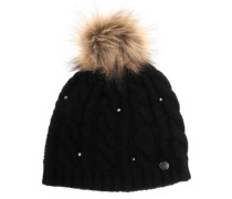 Shooting Star Premium Beanie true black